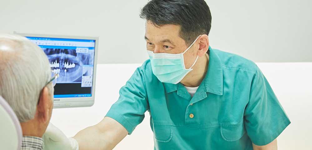 たけいし歯科の歯周病治療